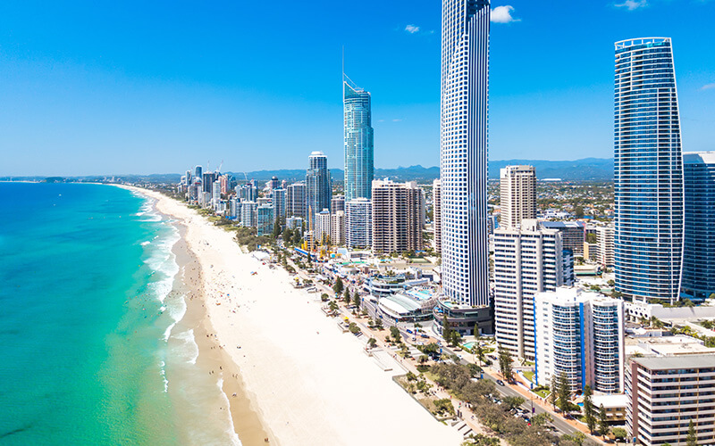 A Picture Of The Gold Coast